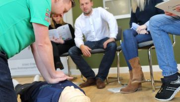 Revised first aid at work syllabus
