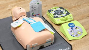 Give life saving support with AED training