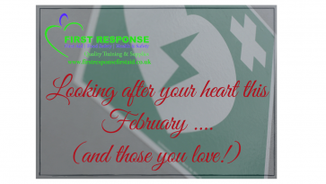 Looking after your heart this February (and those you love!) Part 1