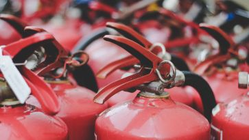Is there a fire extinguisher on your premises?