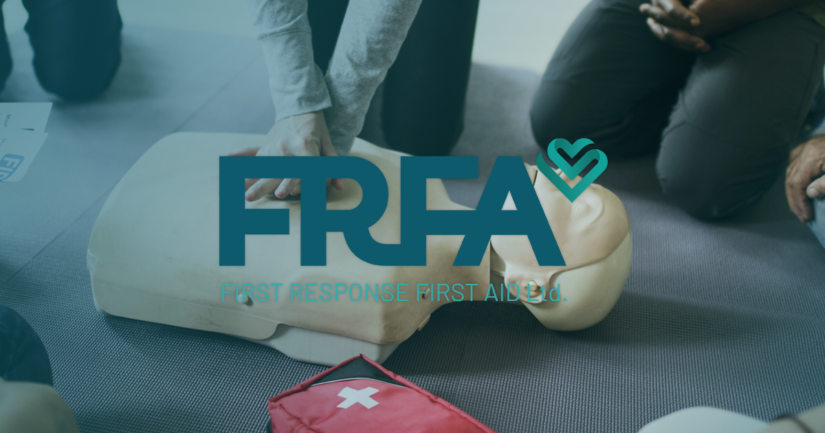 First Aid Walsall Training From First Response First Aid